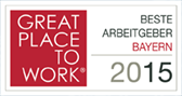 Great place to work - Beste Arbeitgeber Bayern 2015
